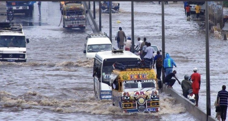 Des inondations à Dakar