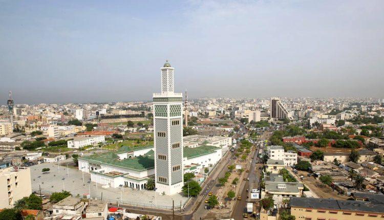 La grande mosquée de Dakar