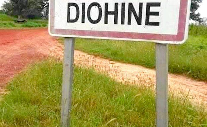 Manifestations à Diohine dans la région de Fatick