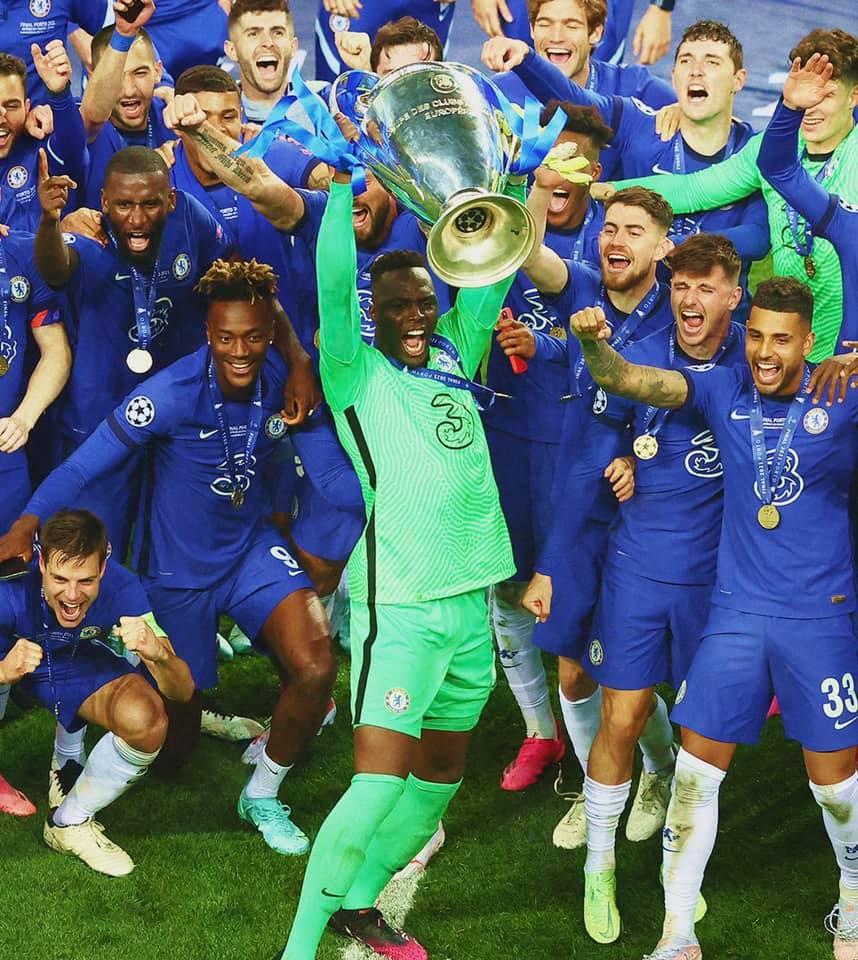 Mendy gardien Chelsea, vainqueur de la Ligue des champions