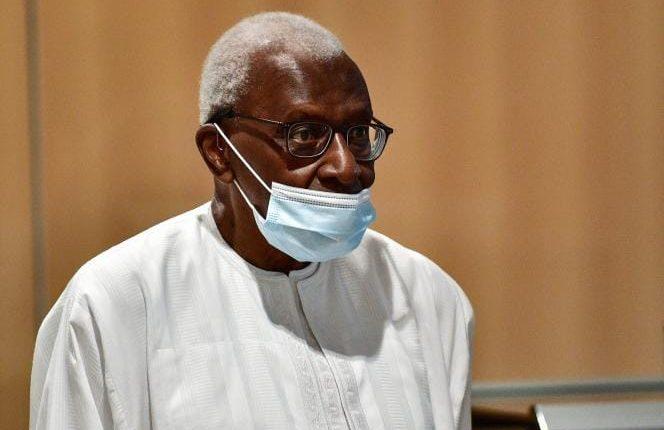 Retour de Lamine Diack au Sénégal