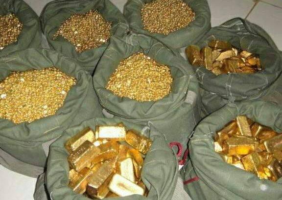 des lingots d'or saisis par la Douane Sénégalaise