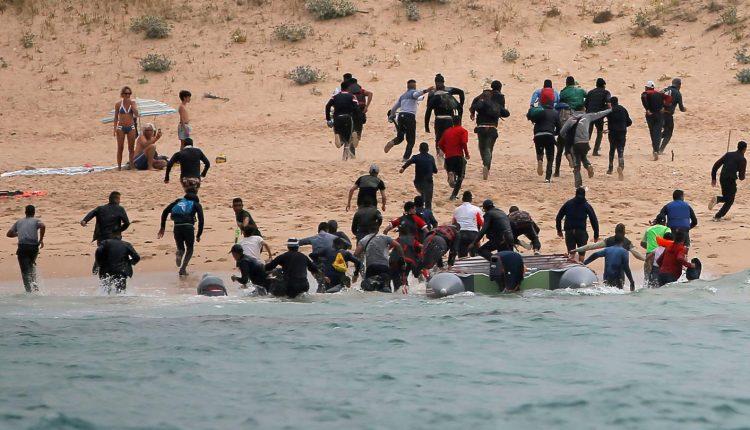 migration Maroc Espagne - La ville Ceutamigration Maroc Espagne - La ville Ceuta
