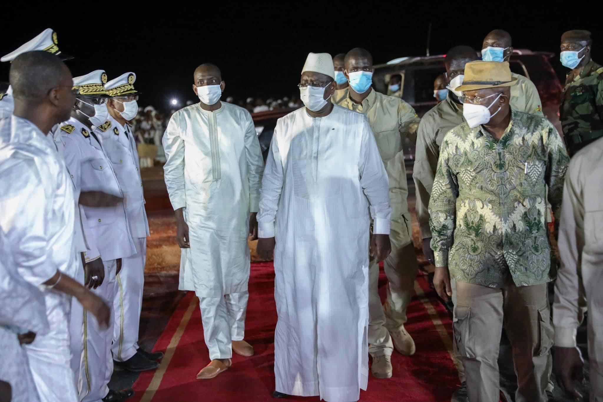 Abdoul Ly et le Président Macky Sall