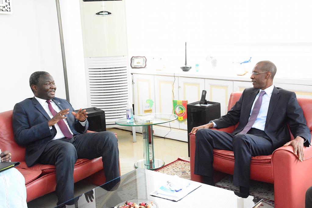 Abdoulaye Diop - Uemoa et Abdoulaye Daouda Diallo, Finances