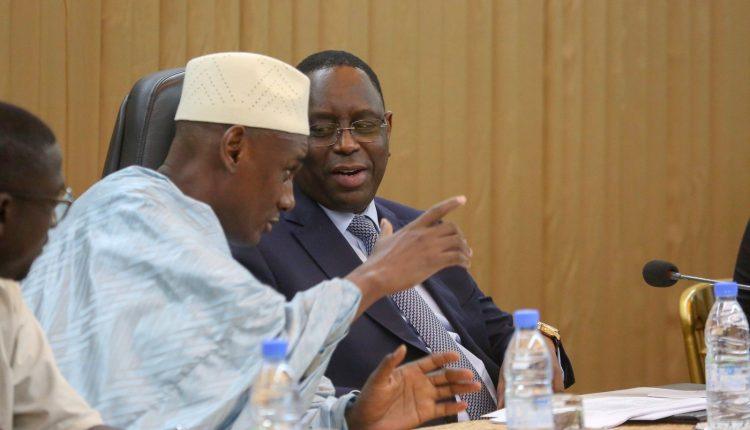 Amadou Dawa Diallo avec Macky Sall