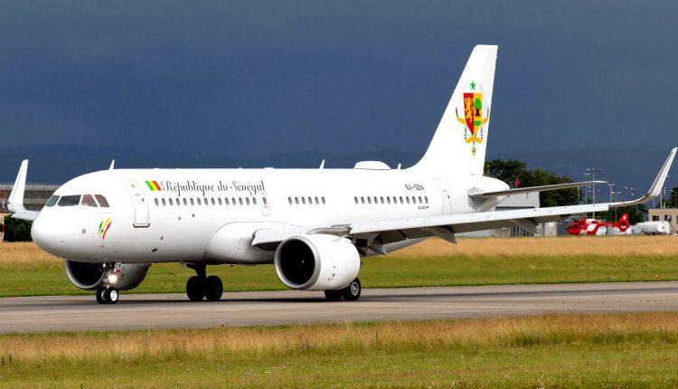 Avion présidentiel du Sénégal effectue son premier vol d'essai