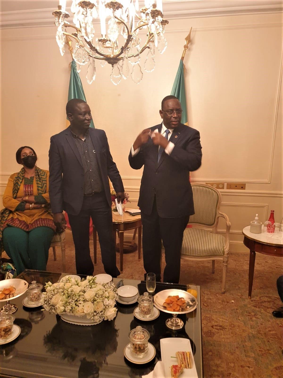 Demba Konté, coordinateur du mouvement Nguidjilone kartal gootal, le président Macky Sall