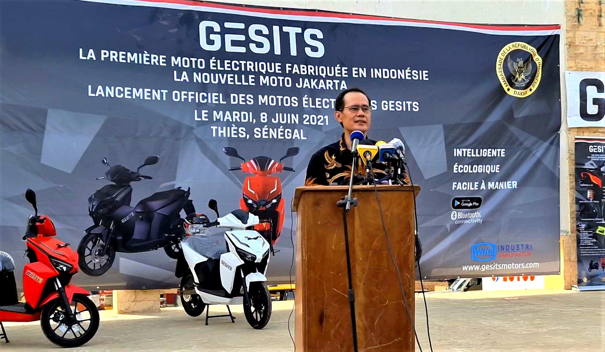 Dindin Wahyudin - Ambassadeur de la République d'Indonésie