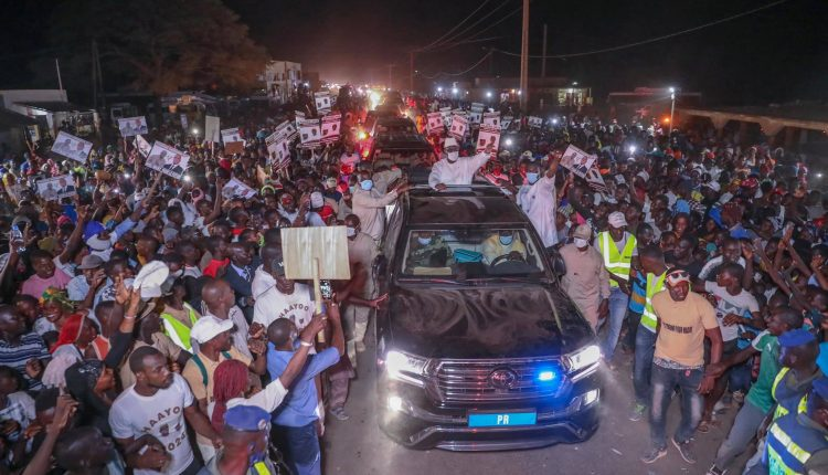 Forte mobilisation de Thierno Amadou Sy Ha Yesso