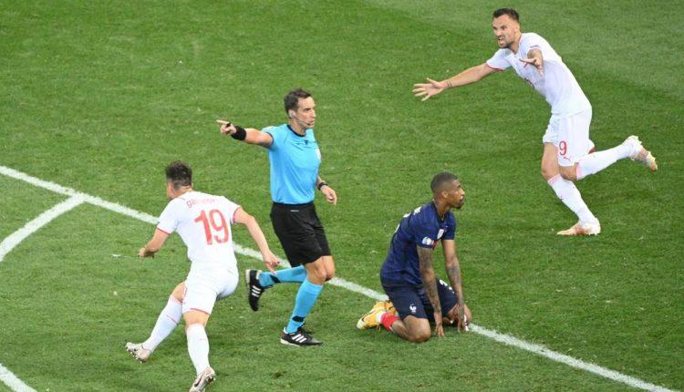 La France éliminée par la Suisse-Euro 2021
