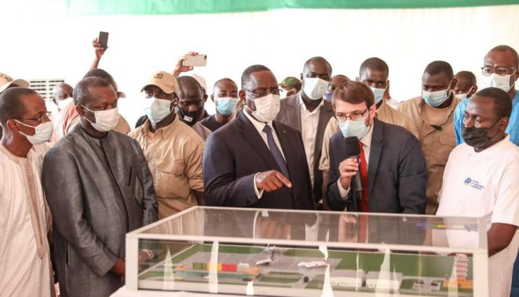 Lancement par Macky Sall des travaux de l'Aéroport régional de Matam à Ourossogui