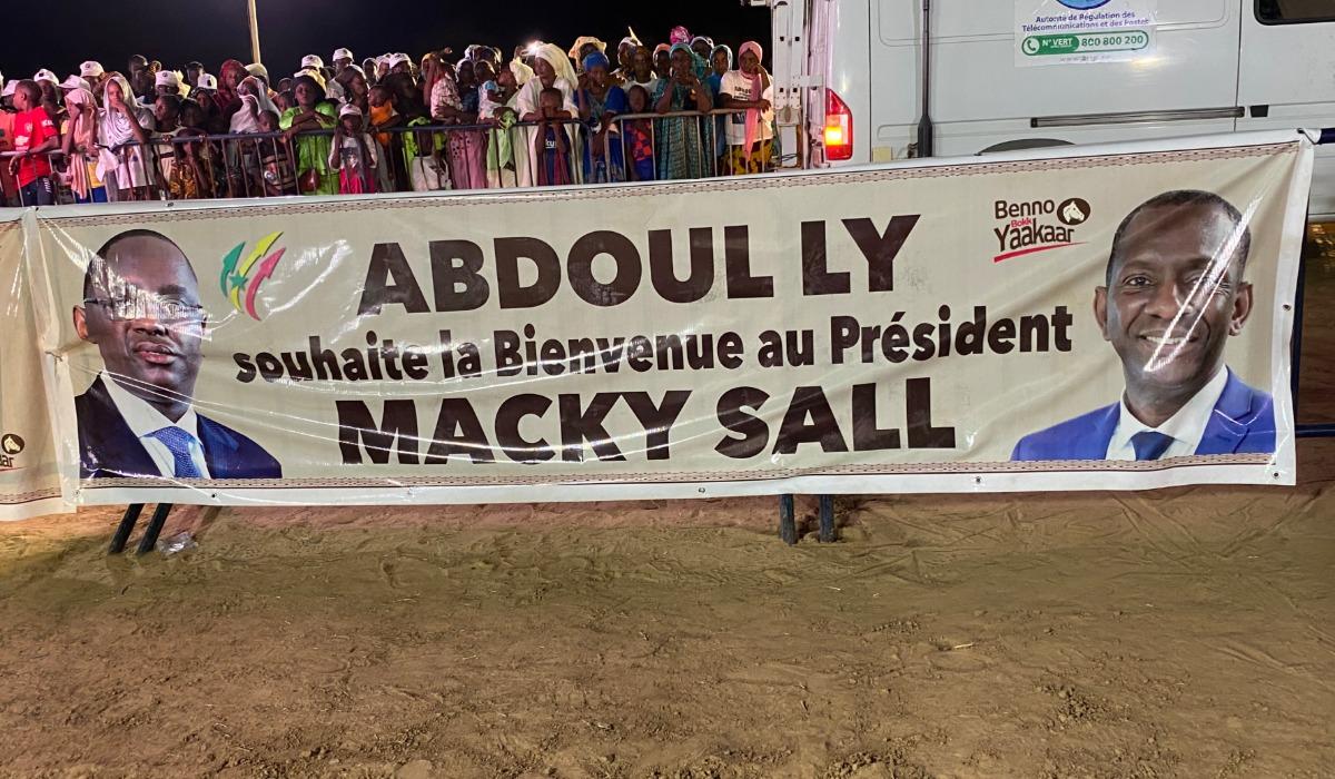 Le Dg de l'Artp Abdoul Ly à Macky Sall