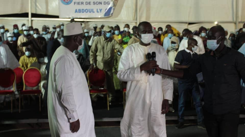 Macky Sall et Abdoul LY