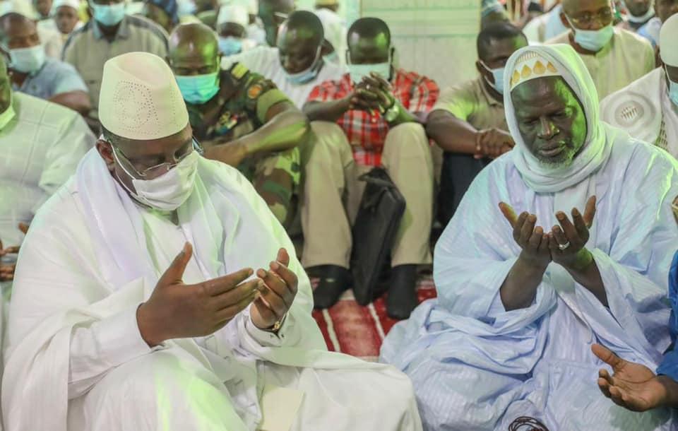 Macky Sall et Thierno Samassa (8)
