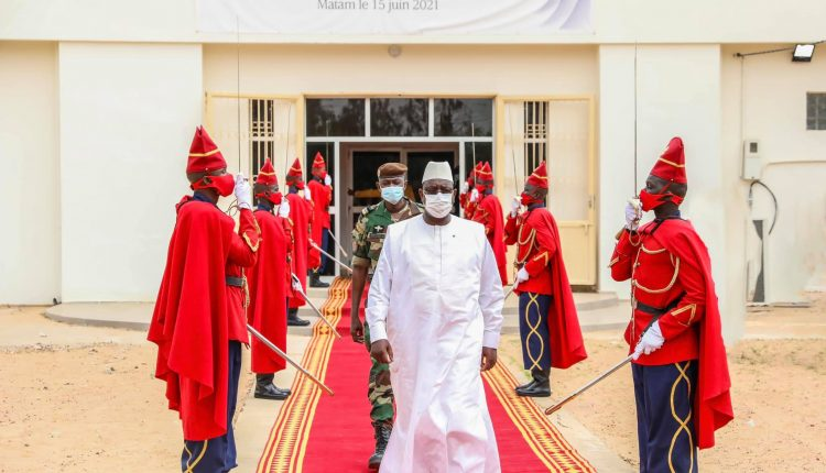 Macky Sall lors du Conseil Présidentiel sur le Développement à Matam