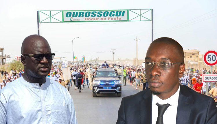 Ourossogui - Le Maire Moussa Bocar Thiam et Samba Alassane Thiam