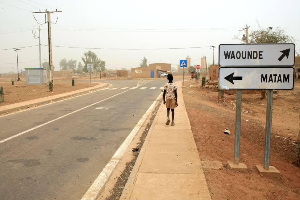 Route Dandé Mayo- Matam vers Waoundé