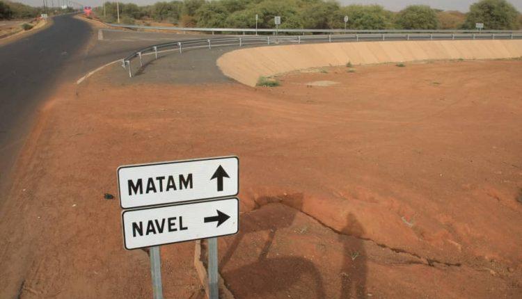 Route Matam vers Nawel