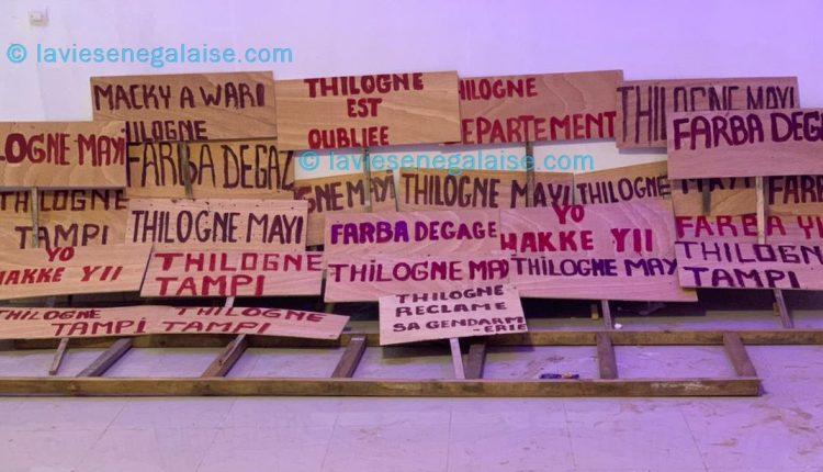 Thilogne Tampi, Thilogne manifeste, Thilogne contre Farba Ngom, Manifestation à Thilogne, Thilogne contre Macky Sall