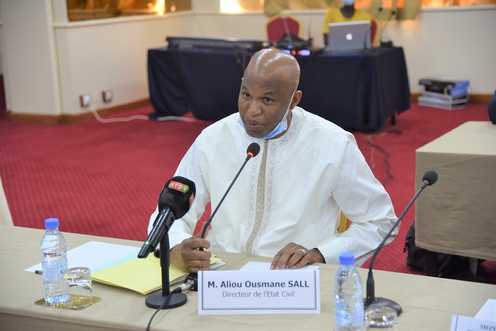 Aliou Ousmane Sall - Directeur de l'Etat Civil du Sénégal