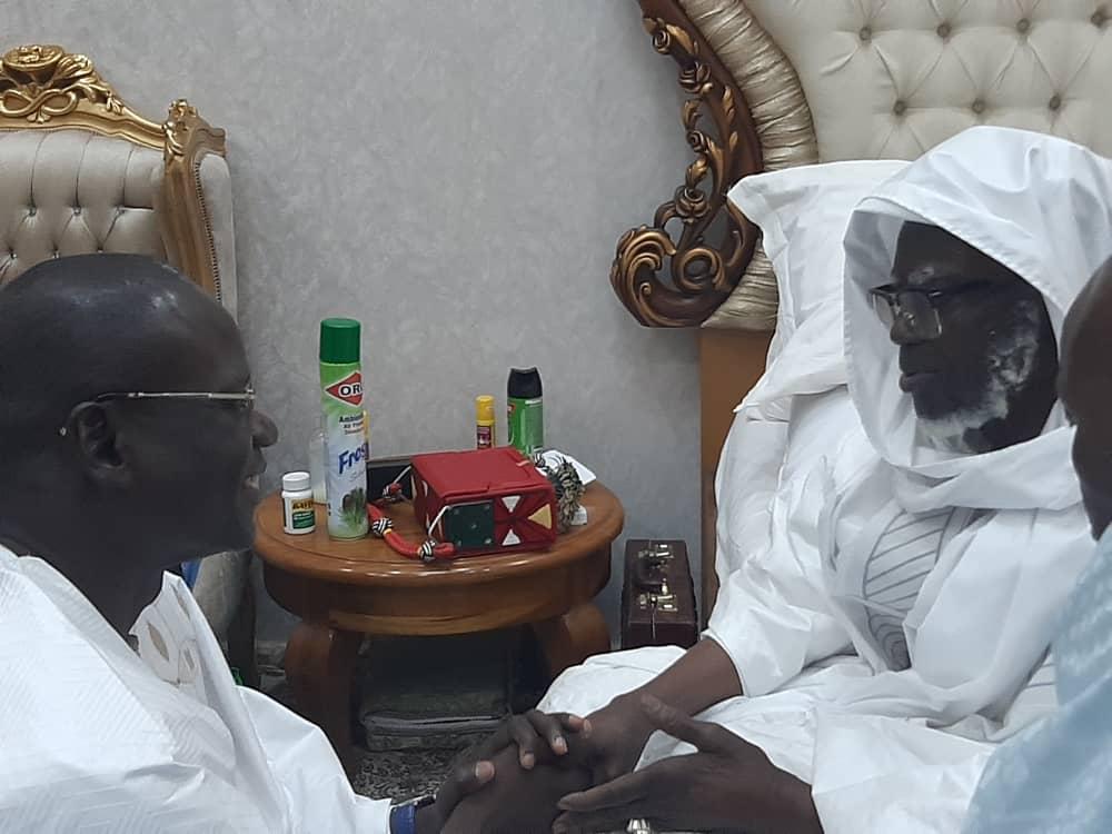 DR ABDOURAHMANE DIOUF et Khalife des Mourides