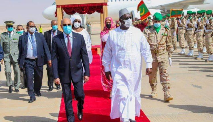 Sénégal et Mauritanie - Macky Sall et Ghazouani en accords