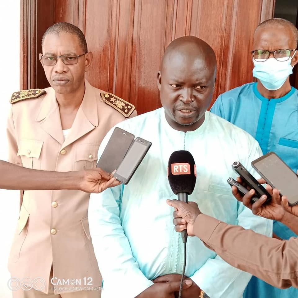 Mbaye Babou, Inspecteur d'Académie de MATAM