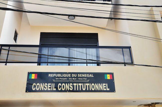 Nominations au Conseil constitutionnel