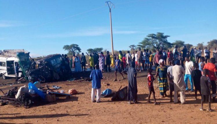 Accident sur la route de Ndioum