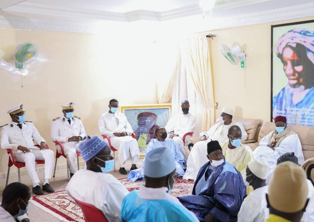 Amadou Ba et Macky Sall chez les familles religieuses