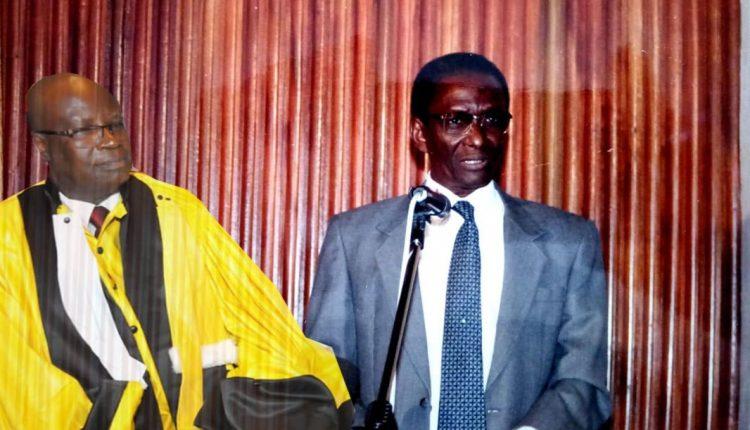 Hommage au Recteur Souleymane Niang Par Kalidou Diallo