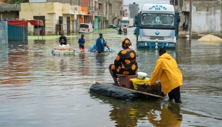 Inondations au Sénégal, plan ORSEC