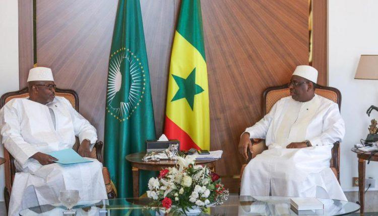 Macky Sall et Alioune Badara Cissé