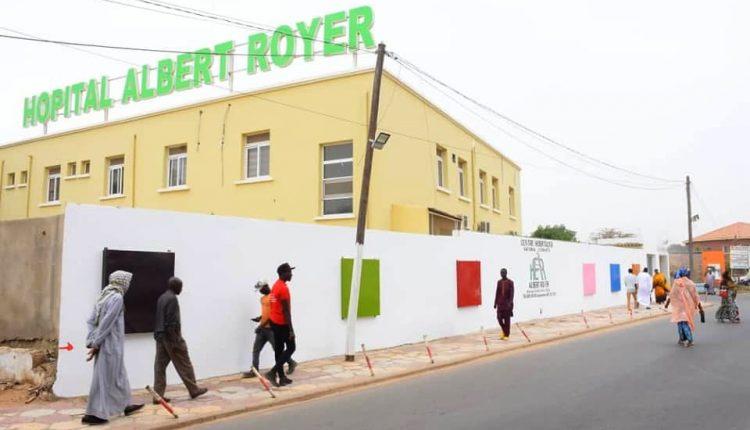 Sénégal - hôpital d'enfants albert royer