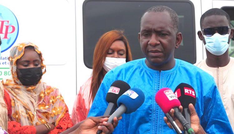 Abdoul LY - Dg de l'ARTP en mission de contrôle des dispositifs mis en place à Touba