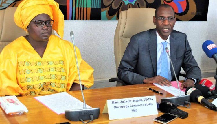 Abdoulaye Daouda Diallo et Aminata Assome Diatta