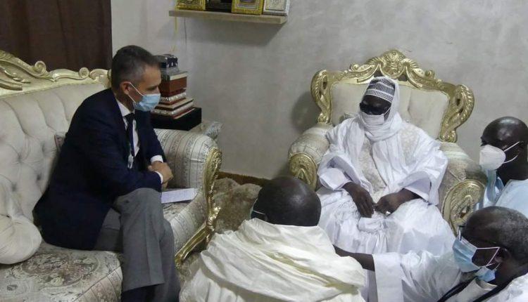 Visite de l'ambassadeur de la France à Touba