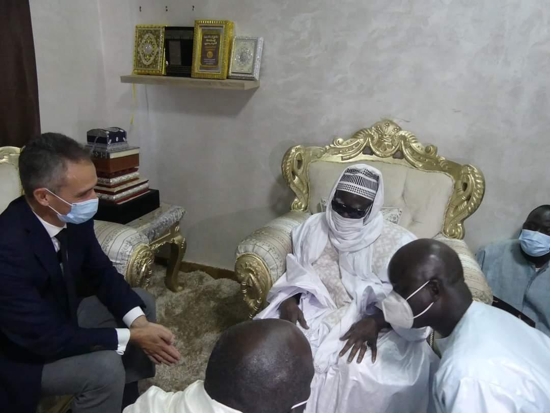 Ambassadeur de France au Sénégal - Philippe Lalliot était en visite à Touba