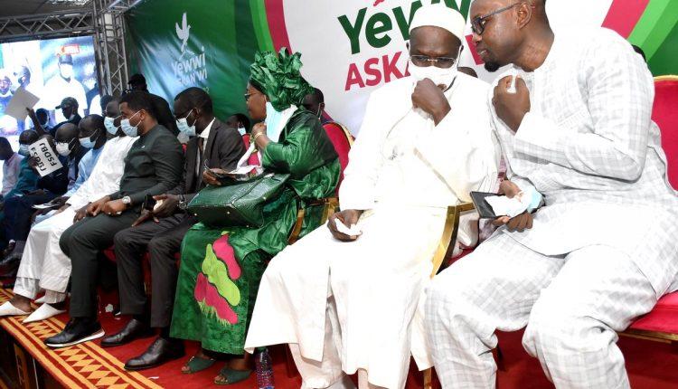 Grande coalition de l'opposition Sénégalaise - Yewwi Askane Wi