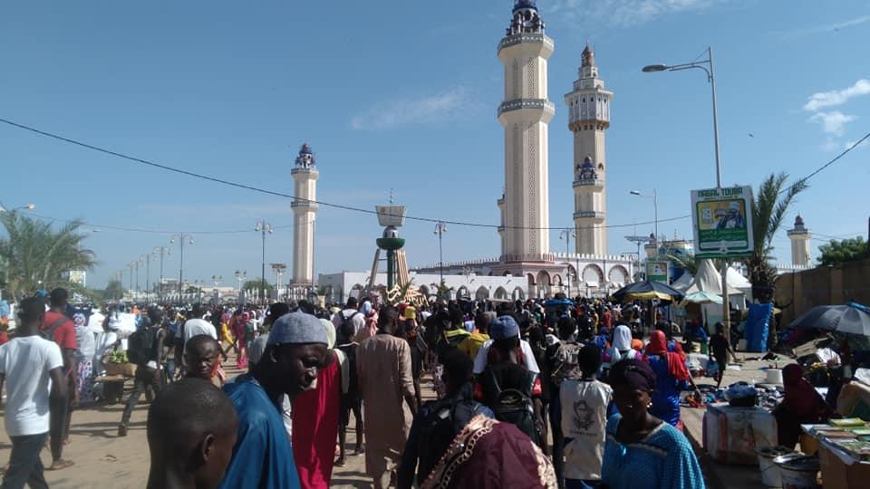 Magal Touba, Mosquée Touba