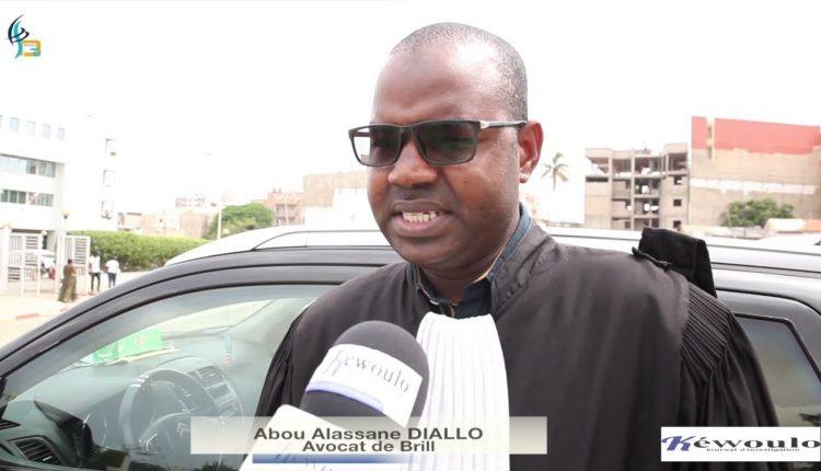 Me Abou Alassane Diallo, avocat de Brill Fight 4