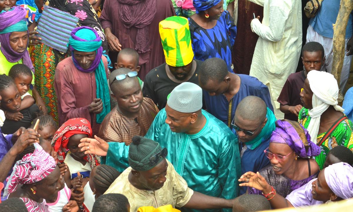 Mobilisation, Amadou Dawa Diallo à Ranérou, Moulins à Mil, Ventilos mosquée (10)