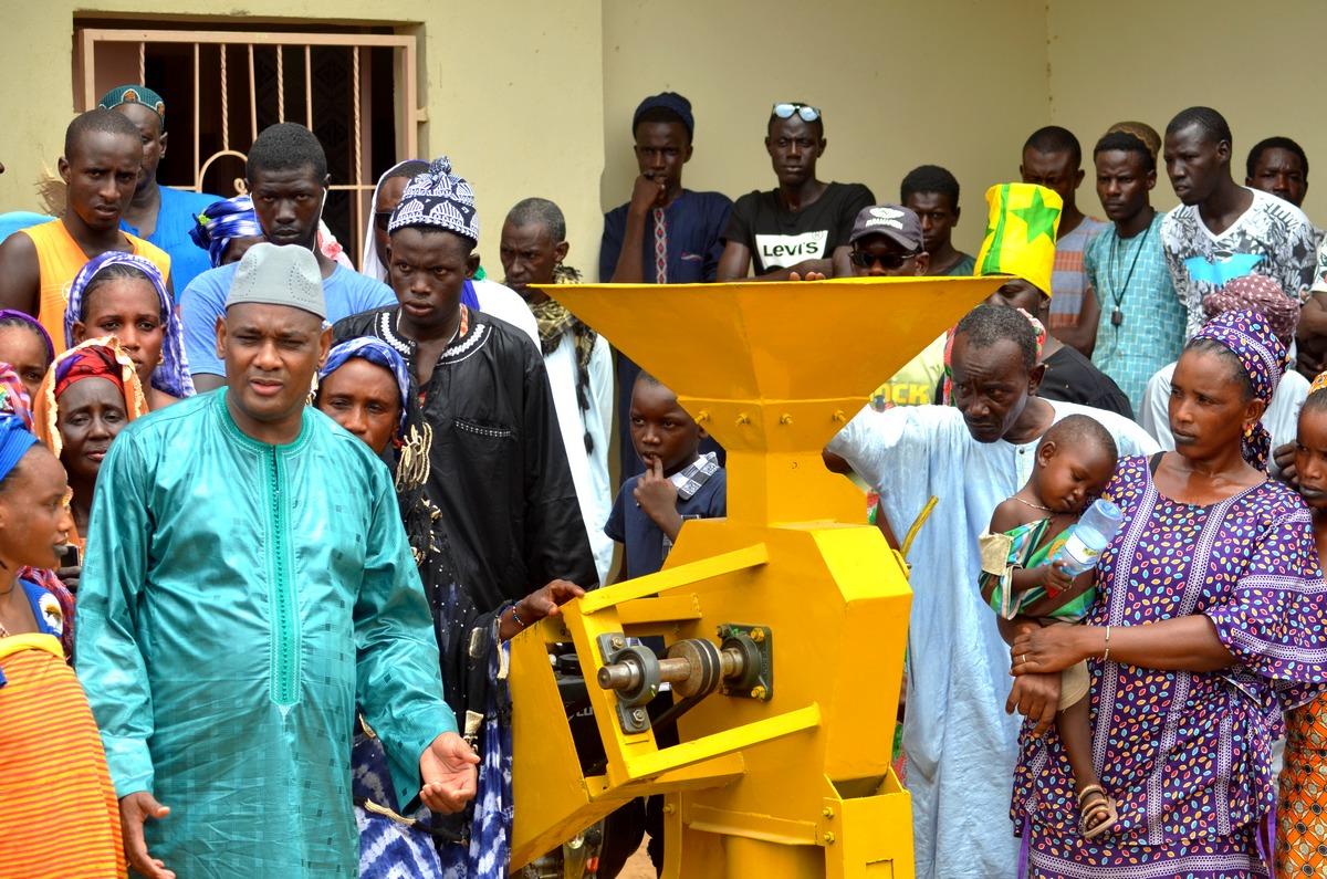 Mobilisation, Amadou Dawa Diallo à Ranérou, Moulins à Mil, Ventilos mosquée (3)
