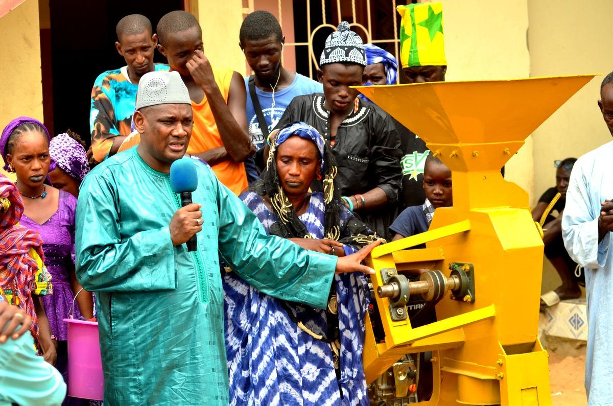Mobilisation, Amadou Dawa Diallo à Ranérou, Moulins à Mil, Ventilos mosquée 28