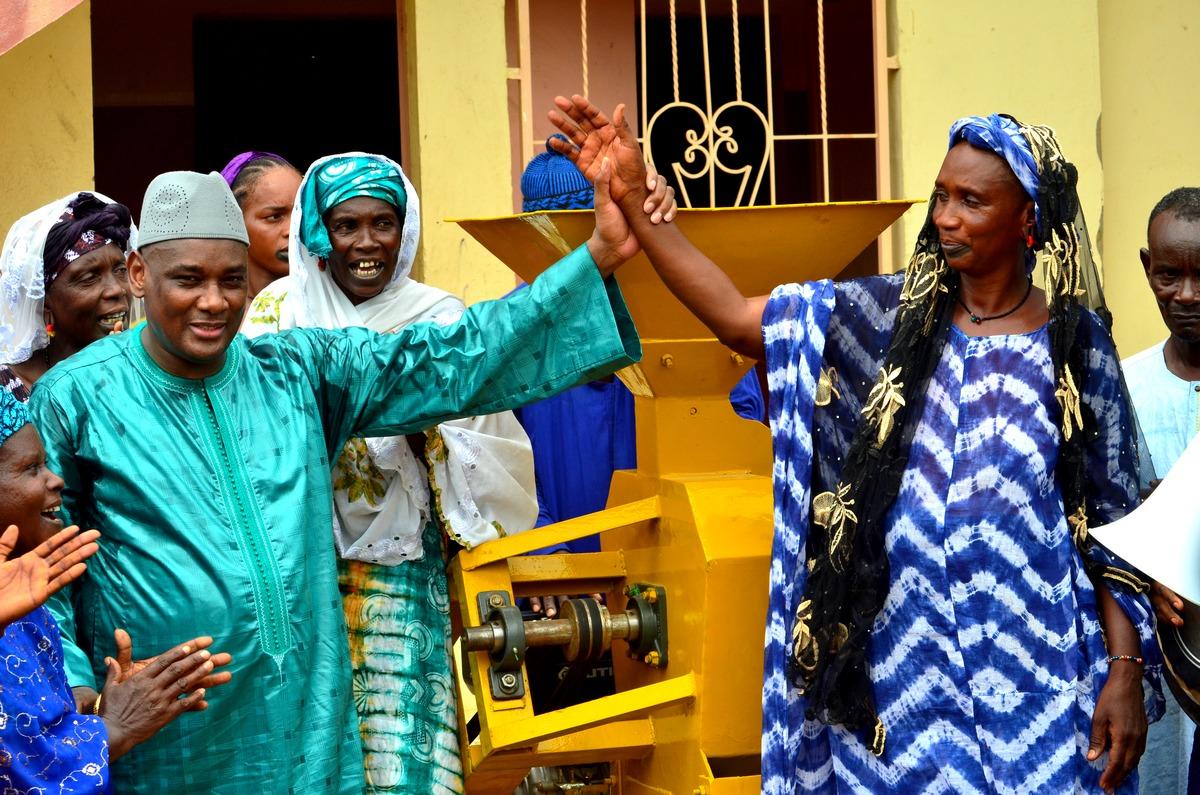 Mobilisation, Amadou Dawa Diallo à Ranérou, Moulins à Mil, Ventilos mosquée (6)