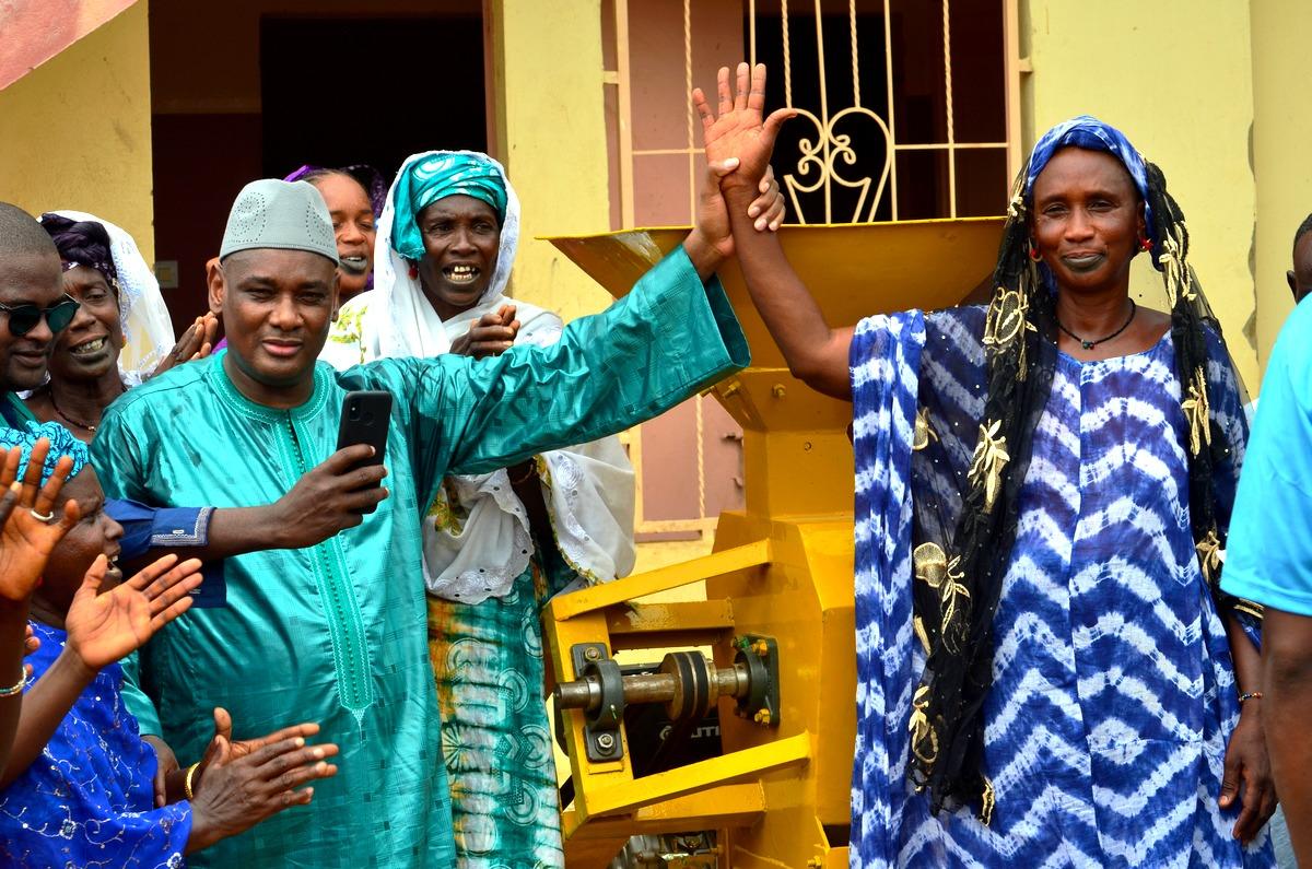 Mobilisation, Amadou Dawa Diallo à Ranérou, Moulins à Mil, Ventilos mosquée (7)