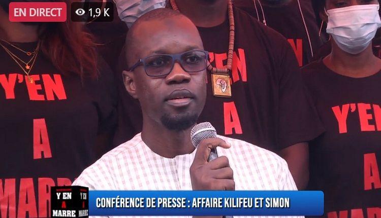 Ousmane Sonko - opposant - Y EN A MARRE