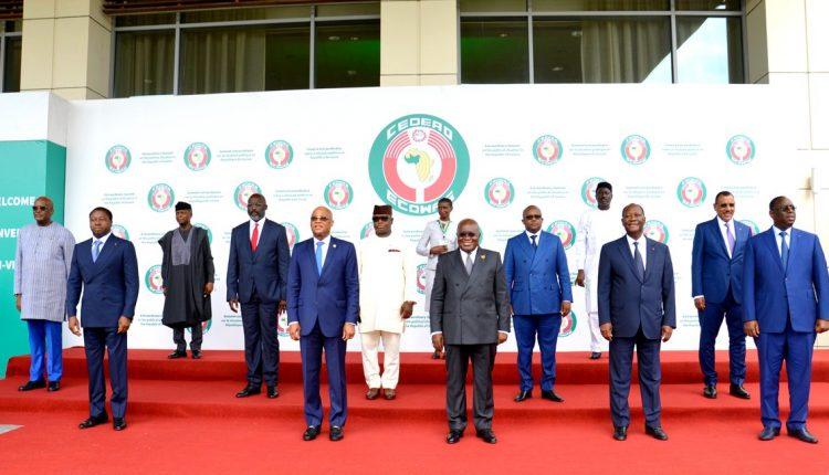 Sommet de la Cedeao à Accra sur la situation en Guinée