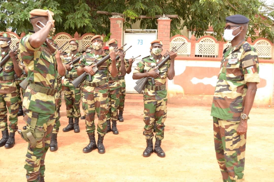 le GCA Cheikh Wade, CEMGA en Gambie